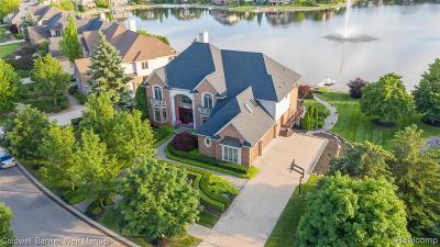 Northville Single Family Home For Sale: 18679 Clairmont Cir E