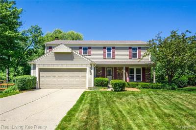 Lake Orion Single Family Home For Sale: 2683 Dansbury Crt