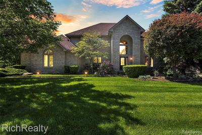 Plymouth Single Family Home For Sale: 49411 Commons Blvd