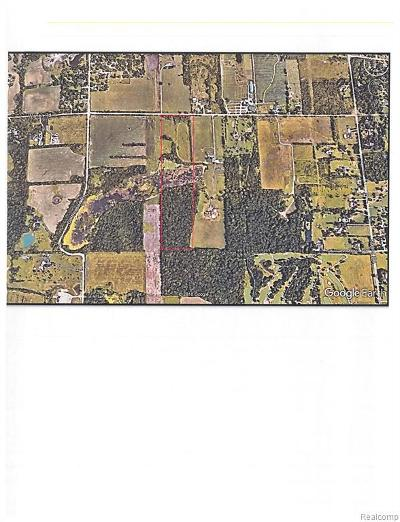 Jackson County, Lenawee County, Hillsdale County, Washtenaw County Residential Lots & Land For Sale: Warren Rd