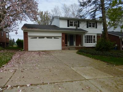 Ann Arbor Single Family Home Contingent - Financing: 2753 Manchester Rd