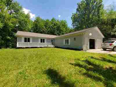 Tipton Single Family Home For Sale: 11891 Coller Hwy