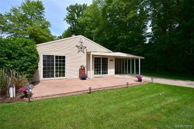 Single Family Home For Sale: 11281 Algonquin Dr