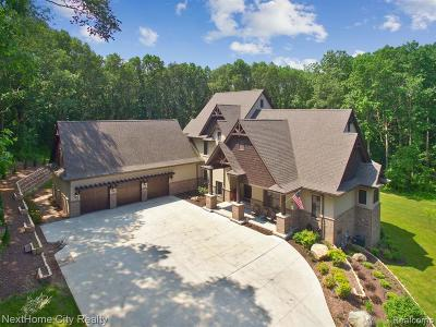 Milford Single Family Home For Sale: 3467 W Buno Rd
