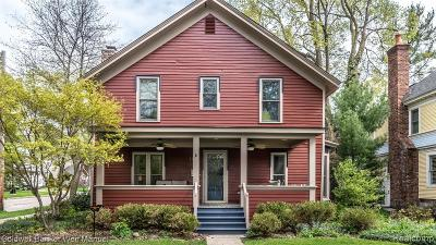 Northville Single Family Home For Sale: 418 W Dunlap St