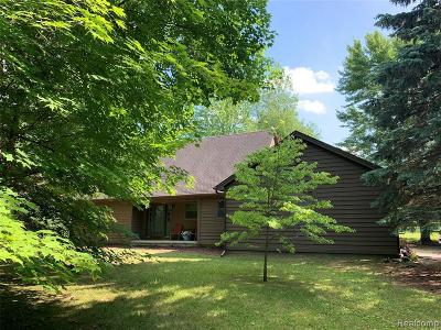 South Lyon Single Family Home For Sale: 56275 9 Mile Rd