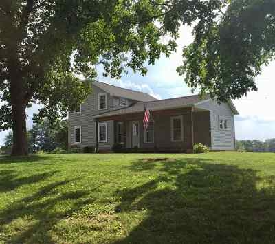 Lenawee County Single Family Home For Sale: 7446 Awkerman Hwy