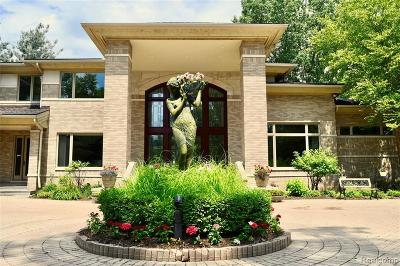 West Bloomfield Single Family Home For Sale: 4403 Landing Dr