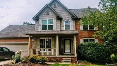 Brighton Single Family Home For Sale: 7478 Bingham Rd