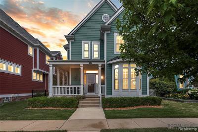 Canton Single Family Home For Sale: 50278 Jackson Ln