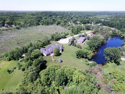 Brighton Single Family Home For Sale: 9406 Deer Creek Crt