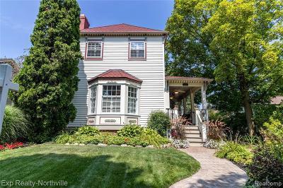 Northville Single Family Home For Sale: 310 W Dunlap St