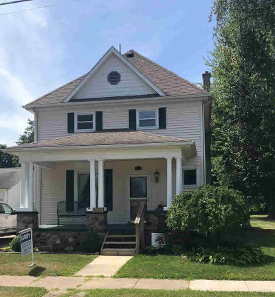 Coldwater Single Family Home For Sale: 291 N Hudson St