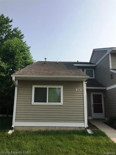 Ann Arbor Condo/Townhouse For Sale: 2119 Stone School Cir