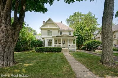 Plymouth Single Family Home For Sale: 1292 Penniman Ave