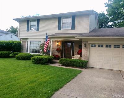 Livonia Single Family Home For Sale: 36320 Hammer Ln