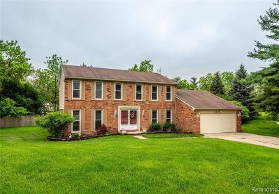 West Bloomfield Single Family Home For Sale: 5586 White Hall Cir