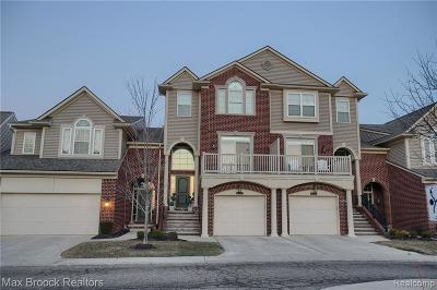 West Bloomfield Condo/Townhouse For Sale: 6543 Berry Creek Ln