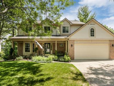 Novi Single Family Home For Sale: 42784 Brookstone Dr