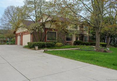 West Bloomfield Single Family Home For Sale: 2831 Baltane Rd