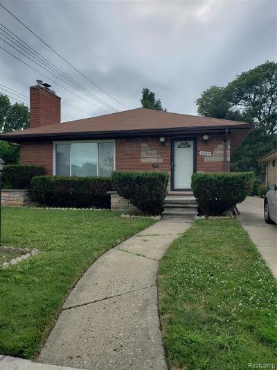 Oak Park Single Family Home For Sale: 24231 Moritz St