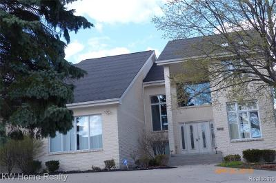 West Bloomfield Single Family Home For Sale: 5682 Silver Pond