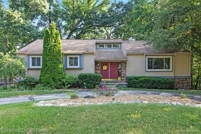 Brighton Single Family Home For Sale: 4655 Canyon Oaks Dr