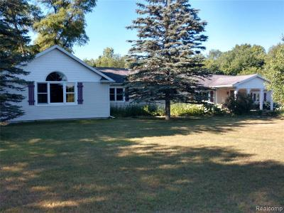 Williamston Single Family Home For Sale: 2100 Howell Rd