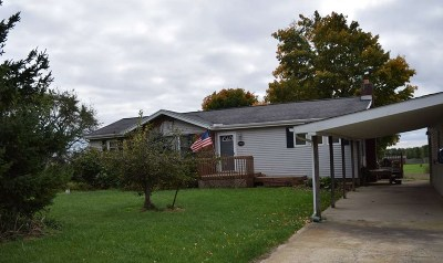 Lenawee County Single Family Home For Sale: 10625 Burton Rd.