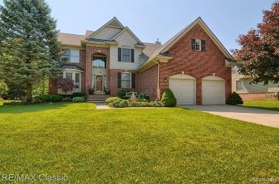 Wixom Single Family Home For Sale: 1135 Parkview Crt