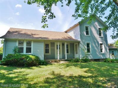 Lake Orion Single Family Home For Sale: 4350 Morgan Rd