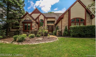 Farmington Hill Single Family Home For Sale: 21733 Sheffield Dr