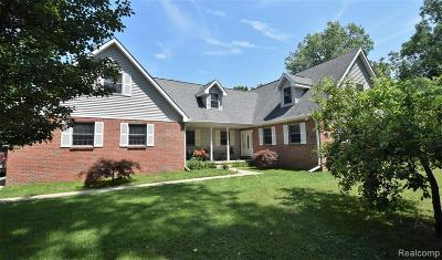 Belleville Single Family Home For Sale: 13586 Hannan Rd