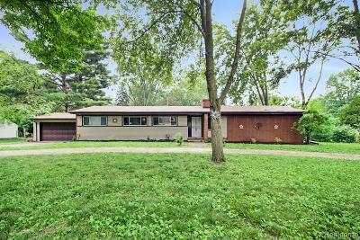 Southfield Single Family Home For Sale: 19633 Mahon St