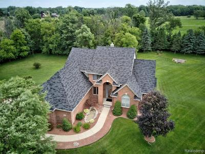 South Lyon Single Family Home For Sale: 9828 Tuscany Valley Way
