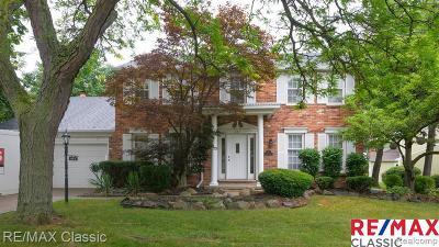 Northville Single Family Home For Sale: 421 Morgan Cir Cir