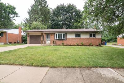 Ann Arbor Single Family Home Contingent - Financing: 564 Manor Dr
