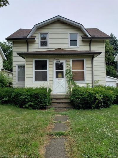 Jackson Single Family Home For Sale: 1314 E North St