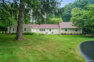 Northville Single Family Home For Sale: 47046 Curtis Rd