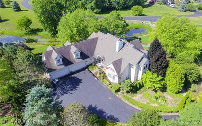 South Lyon Single Family Home For Sale: 6296 Wilderness