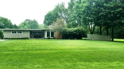 Chelsea Single Family Home For Sale: 5600 Stofer Rd