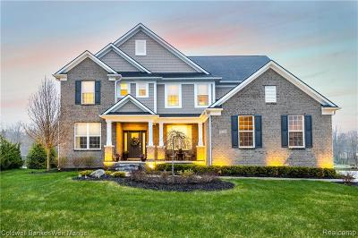 South Lyon Single Family Home For Sale: 22784 Shepherds Hollow Dr