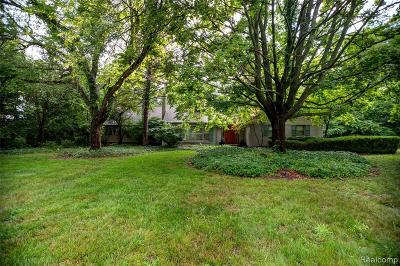 Plymouth Single Family Home For Sale: 9085 N Beck Rd