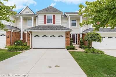 Novi Condo/Townhouse For Sale: 41871 Mitchell Rd