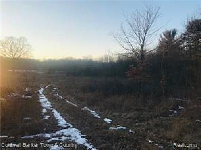 Jackson County, Lenawee County, Hillsdale County, Washtenaw County Residential Lots & Land For Sale: Merrill Dr