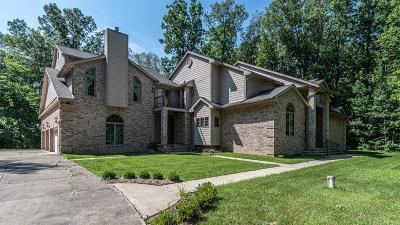 Ann Arbor Single Family Home For Sale: 4125 Hawks Cove