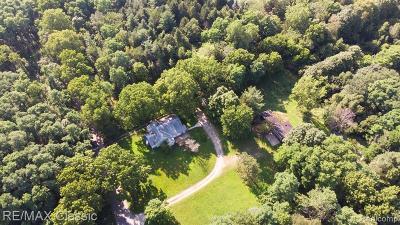 Novi Single Family Home For Sale: 44000 Twelve 1/2 Mile Rd