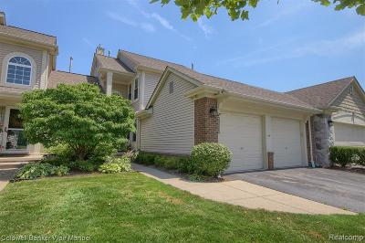 Canton Condo/Townhouse For Sale: 1611 Thistle Crt