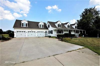 Milan Single Family Home For Sale: 9897 Crane Rd