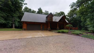 Single Family Home For Sale: 4849 Crestview Cir